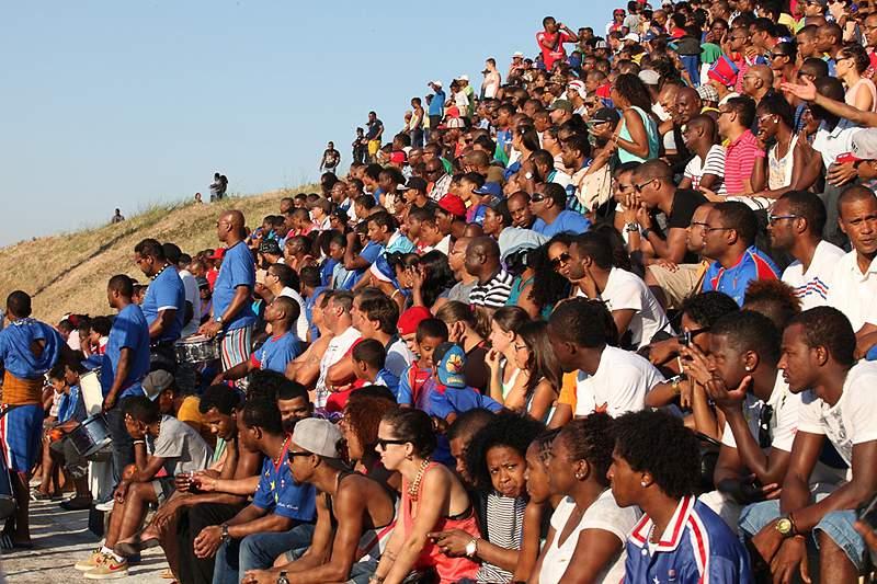 Adeptos da seleção de Cabo Verde
