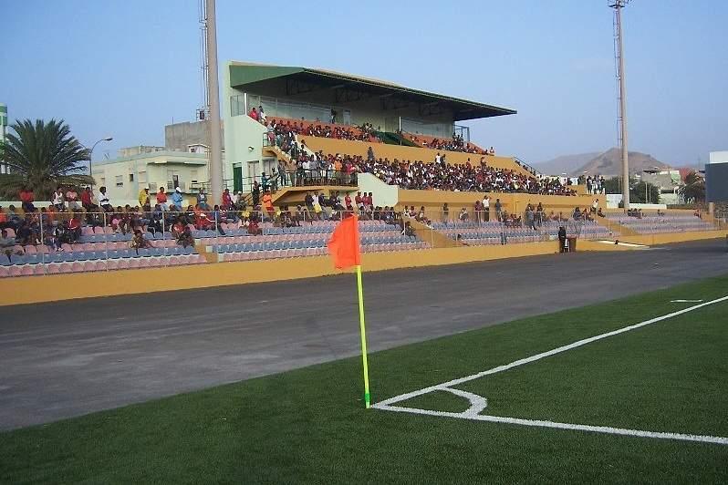 Estádio Adérito Sena, em São Vicente