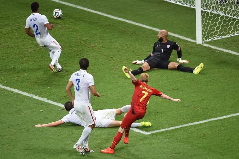 Bélgica venceu EUA