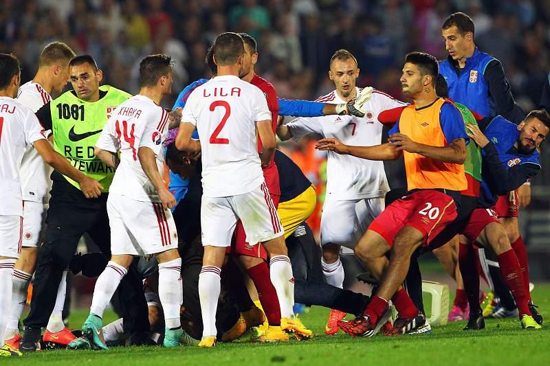 Sérvia vs Albânia