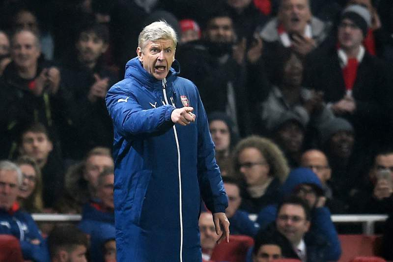 Arsène Wenger, treinador do Arsenal