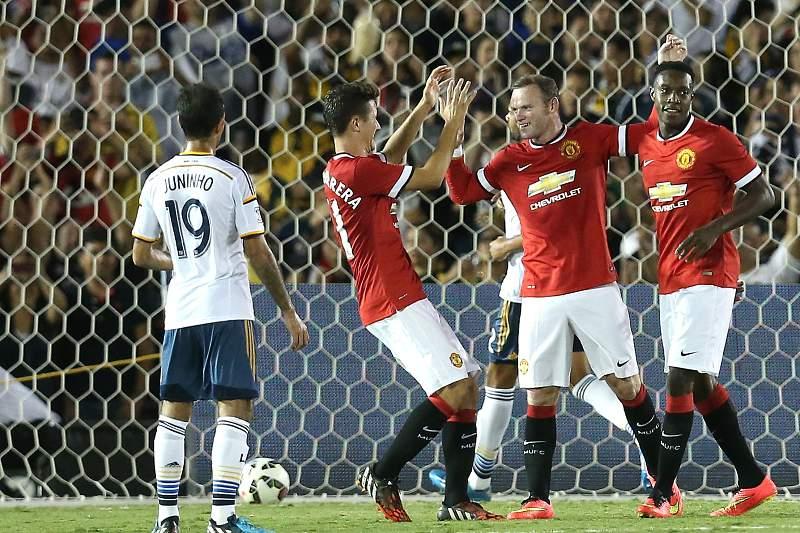 Manchester United vence LA Galaxy por 7-0