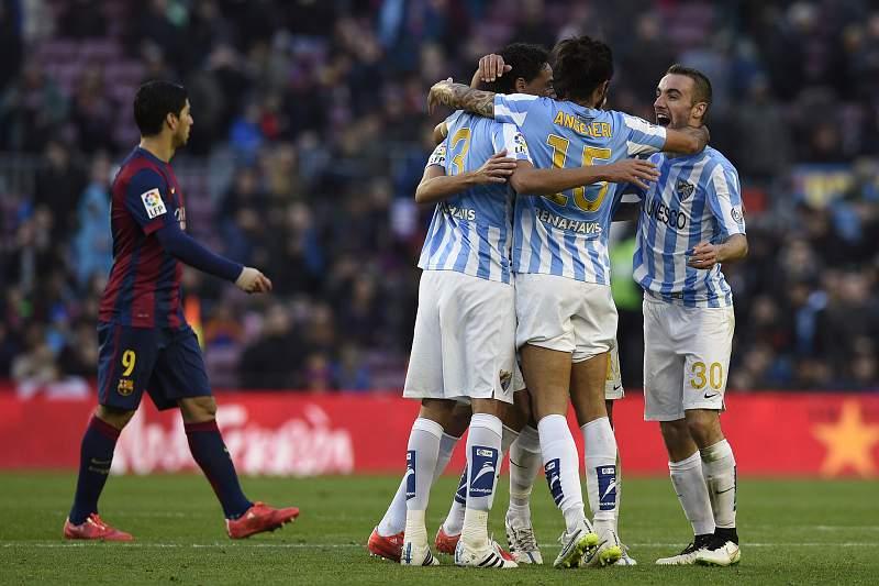Málaga vence e já é oitavo