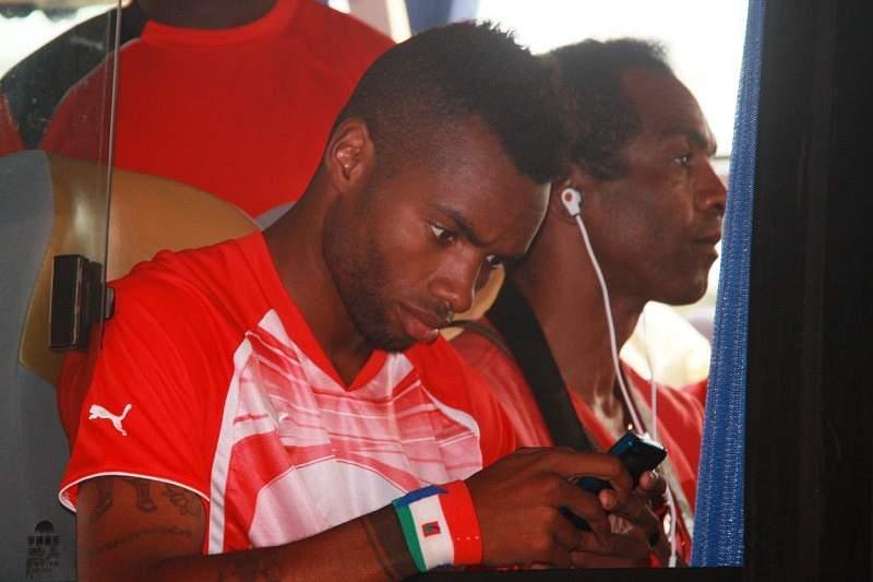 Balboa com a seleção da Guiné Equatorial