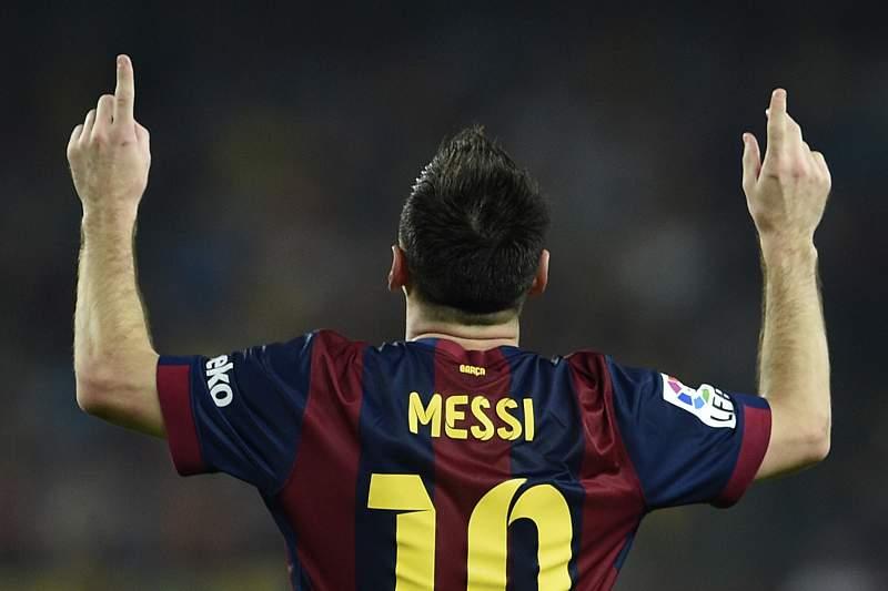 Messi voltou a marcar pelo Barcelona