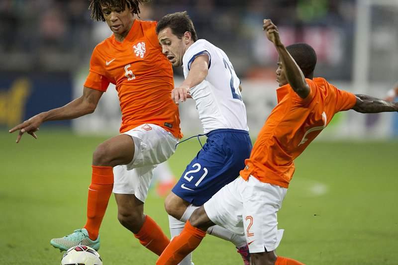 Bernardo Silva oa serviço da seleção de sub-21 de Portugal
