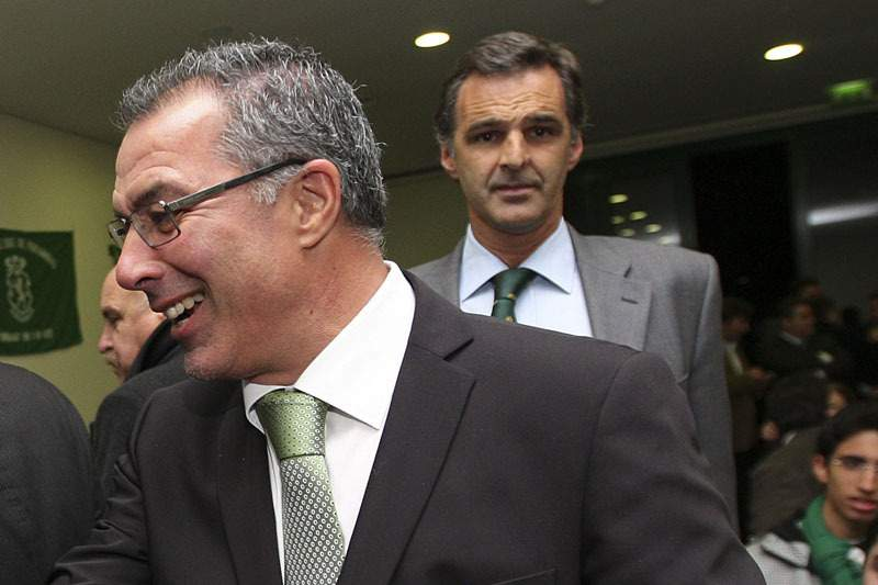 Augusto Inácio, diretor do futebol profissional do Sporting