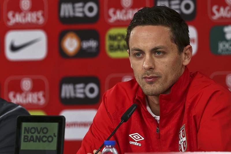 Matic, jogador da seleção da Sérvia