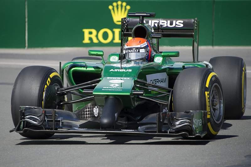 Carro da Caterham na Formula 1
