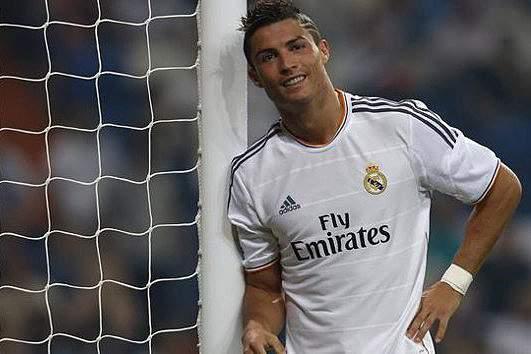 Cristiano Ronaldo e o poste