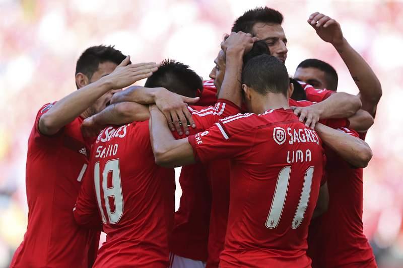 Benfica festeja