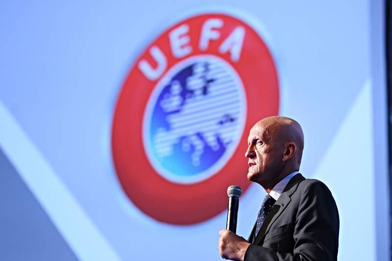 Pierluigi Colina, responsável pela arbitragem da UEFA