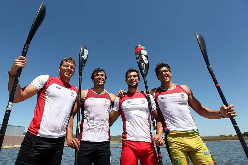 Canoagem: Portugal vice-campeão do Mundo em K4 1.000 metros
