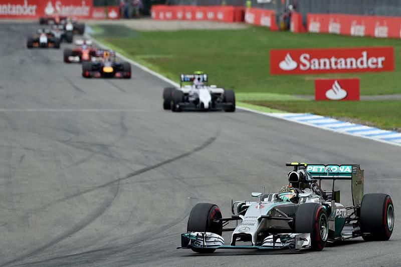Rosberg liderou o GP da Alemanha
