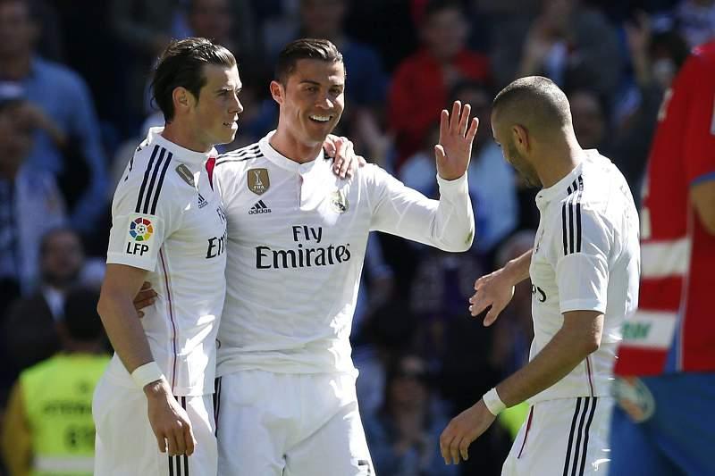 Ronaldo, Bale e Benzema