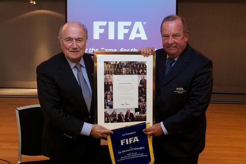 Blatter e D'Hooghe