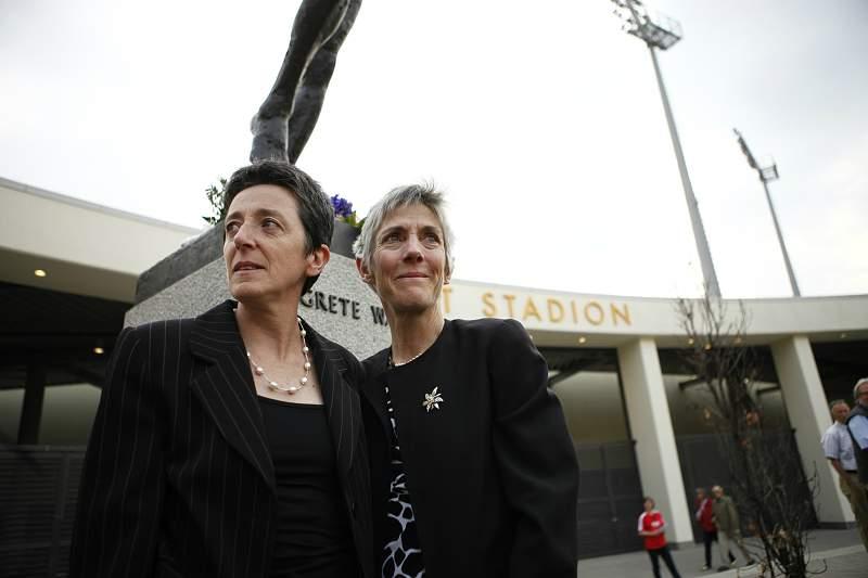 Rosa Mota e Joan Benoit