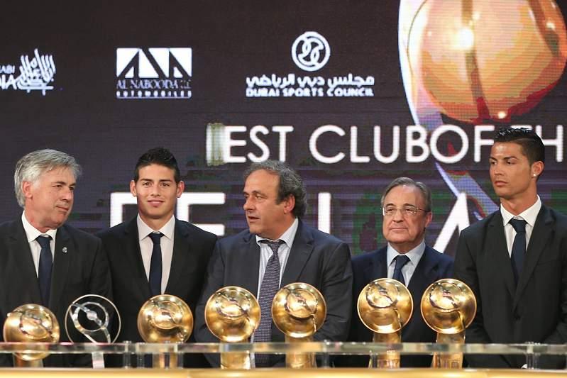 Real Madrid domina Globe Soccer Awards