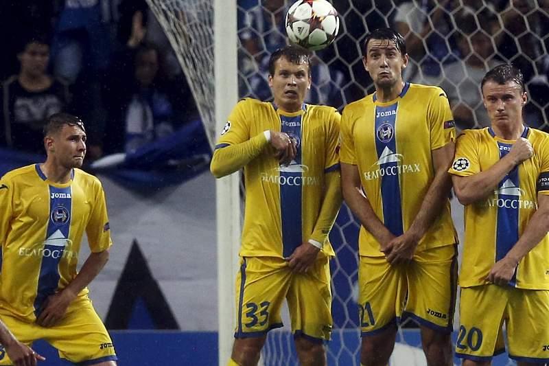 BATE Borisov empatou na Liga da Bielorrússia