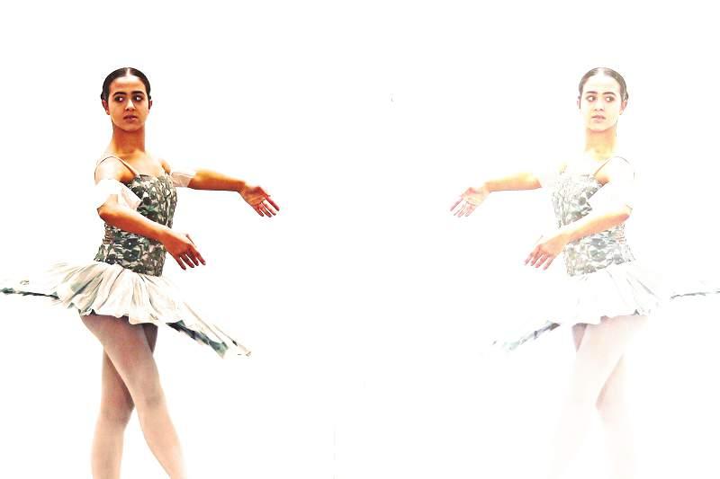 Laura Costa é a rapariga que não consegue parar de dançar
