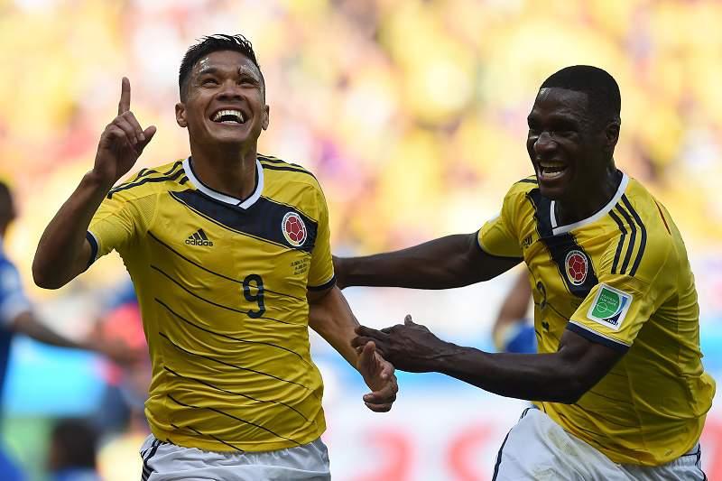 Gutierrez e Zapata fazem a festa da Colômbia