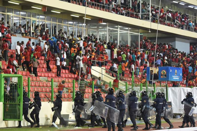 CAN2015: Incidentes em Malabo