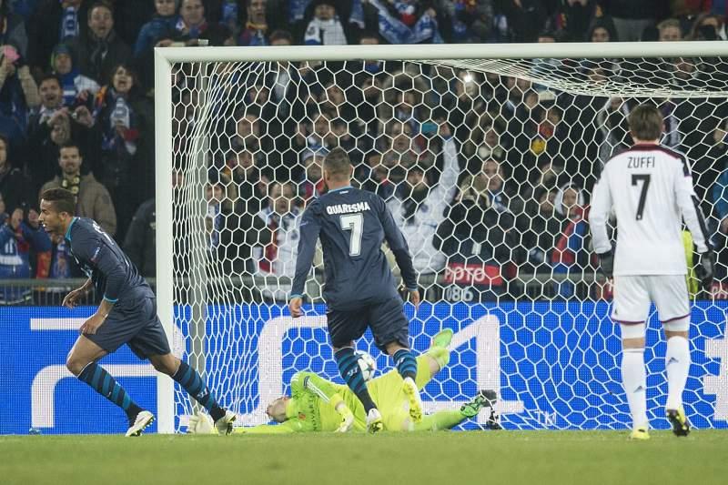 Danilo fez o empate do FC Porto frente ao Basileia