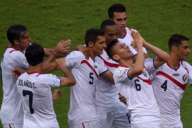 Costa Rica choca Uruguai no grupo da morte