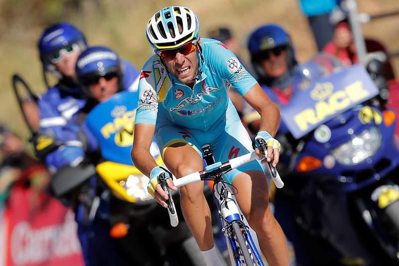 Vincenzo Nibali na Astana