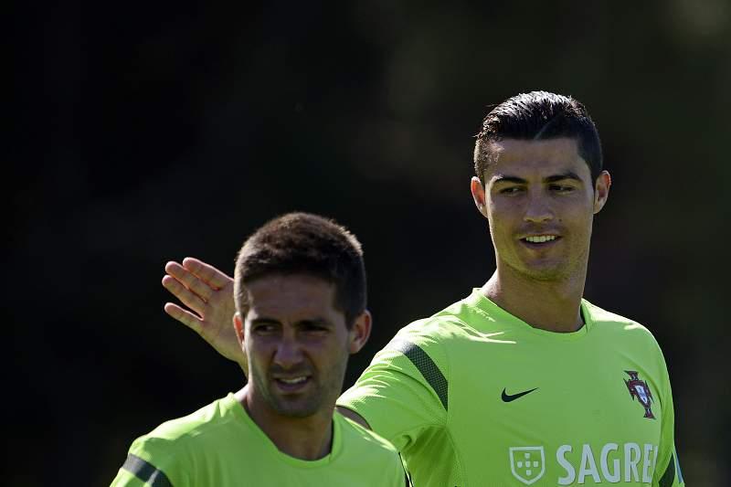 Moutinho e Ronaldo