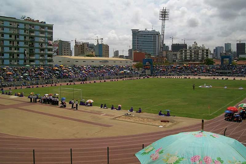 Estadios dos Coqueiros, em Luanda