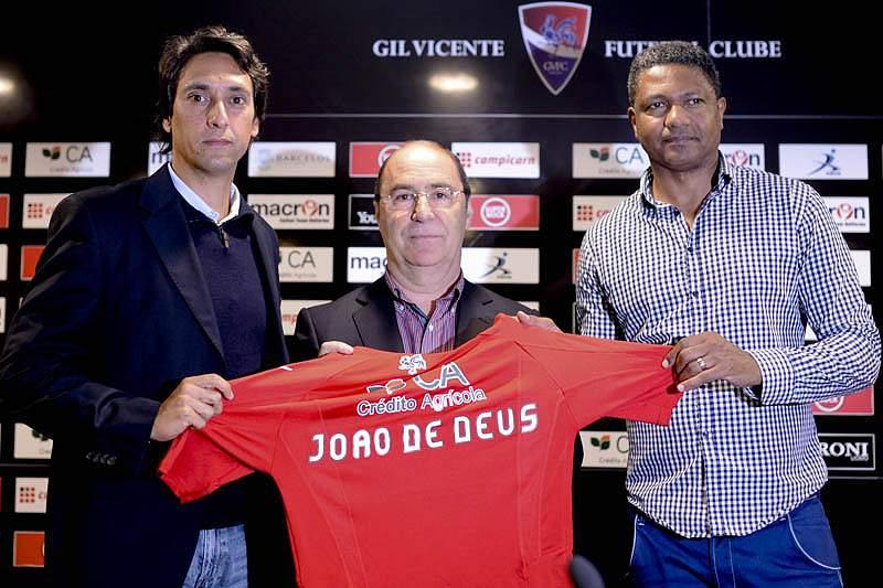 João de Deus é o treinador do Gil Vicente