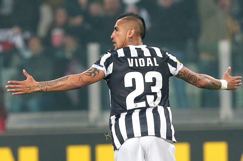 Vidal, jogador da Juventus