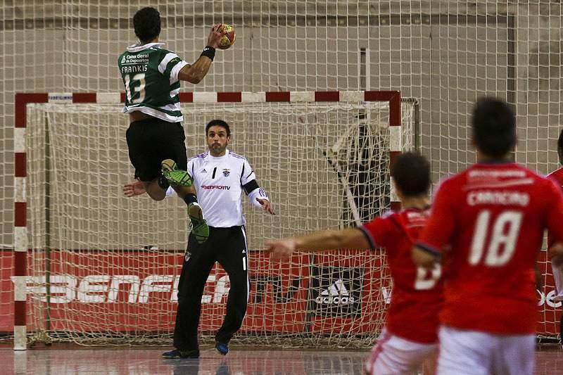 Benfica-Sporting em andebol