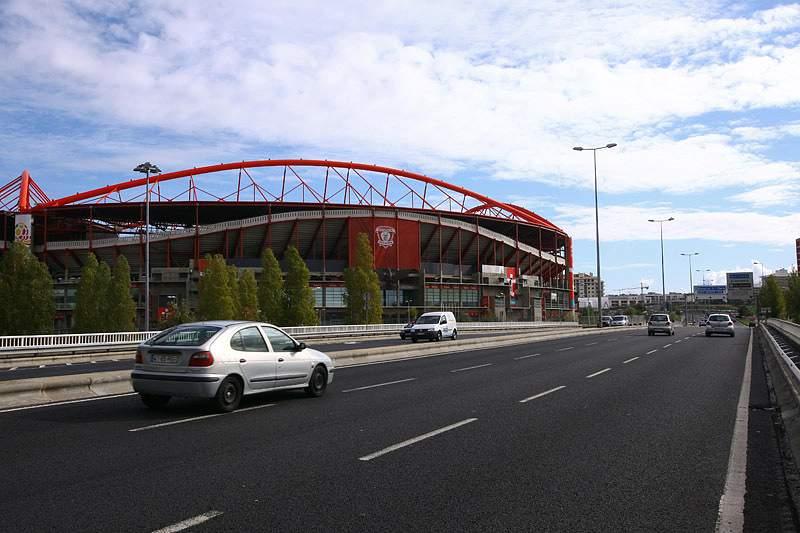 Vista do Estádio da Luz