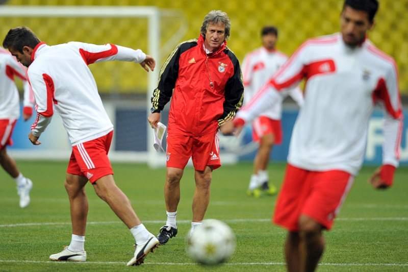 Treino do Benfica