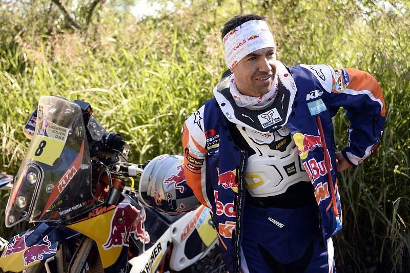 Dakar2014: Ruben Faria sofre acidente e abandona