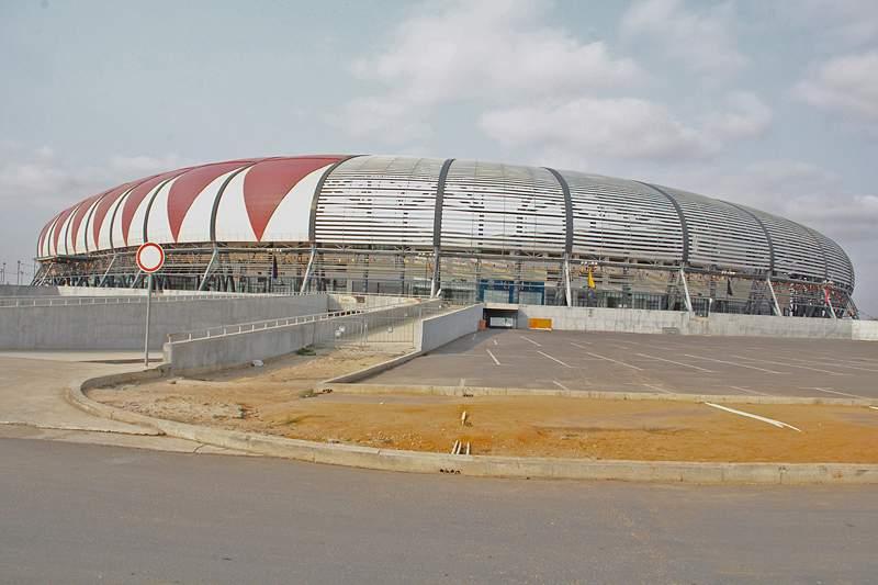 Estádio 11 de Novemmbro, em Luanda