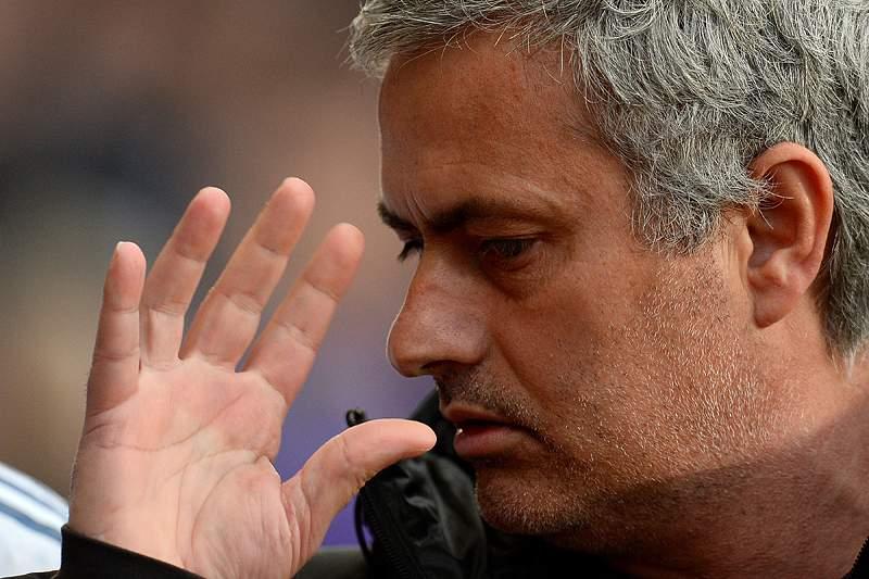 Mourinho não gostou de ver a sua equipa sofrer três golos