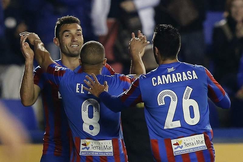 Levante vence Eibar e sai da zona de despromoção na Liga espanhola