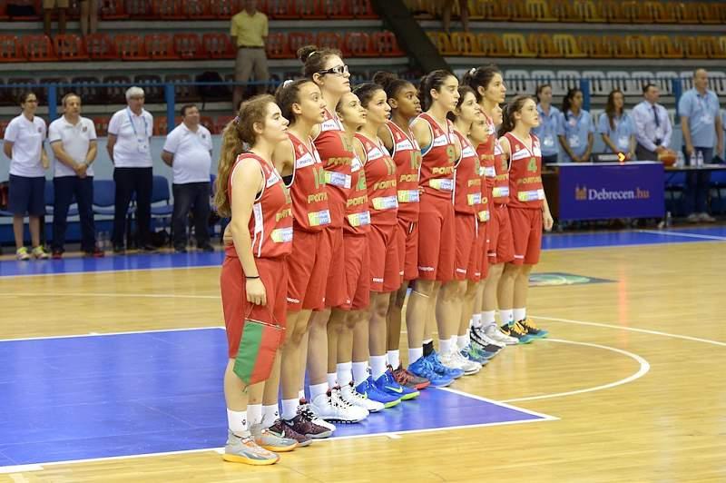 Seleção feminina de basquetebol sub-16
