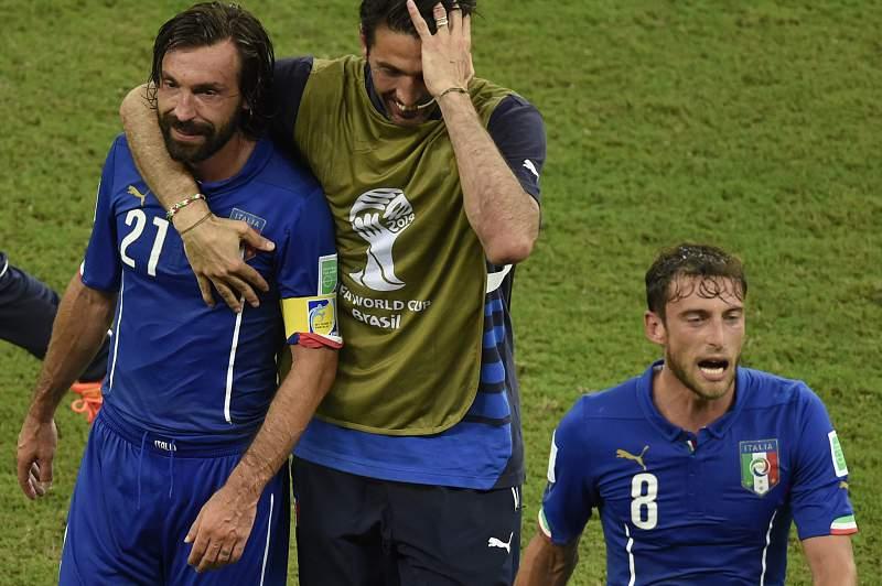 Marchisio sofreu com o calor de Manaus