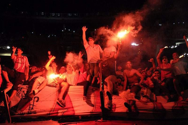 Festa dos adeptos do River Plate