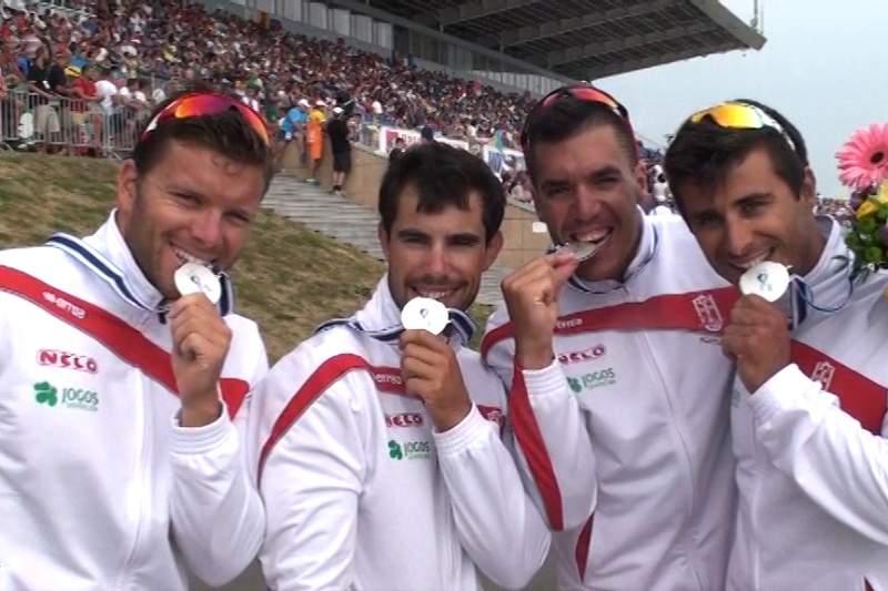 Portugal é vice-campeão mundial de canoagem