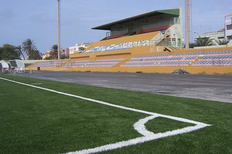 Estádio Adérito Sena em São Vicente
