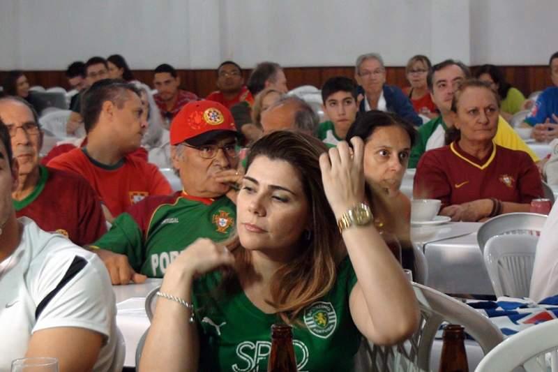 Portugueses na casa de Campinas