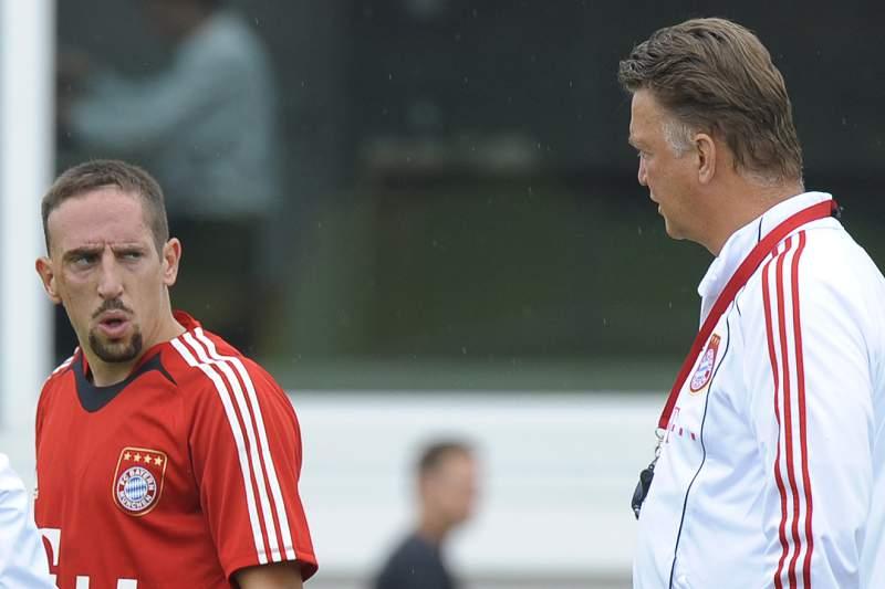 Ribéry acusa Van Gaal de ser 'um homem mau'