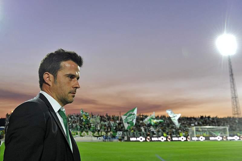 Marco Silva na Mata Real