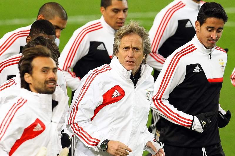 Treino Benfica