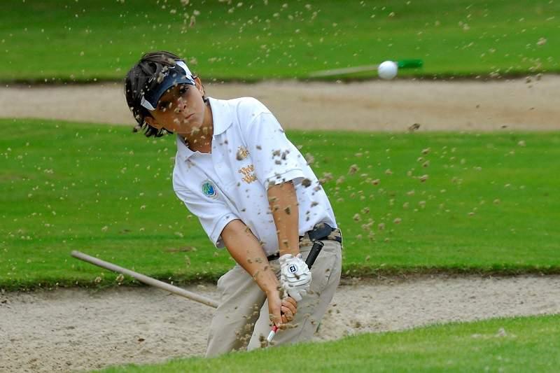 Golfista Tomás Ribeiro